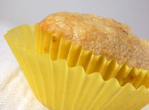 Birnen-Muffin, geschrumpft