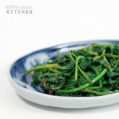 Kong Xin Tsai Cooked