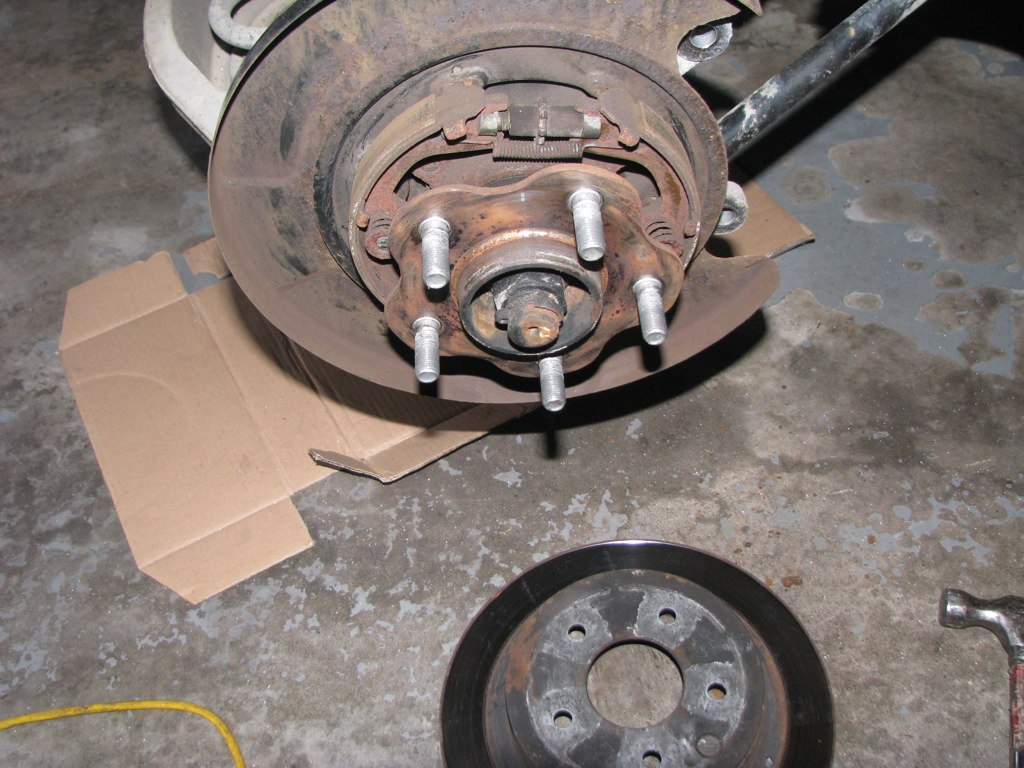 Service Manual How To Replace 2010 Infiniti Ex Rear Rotor