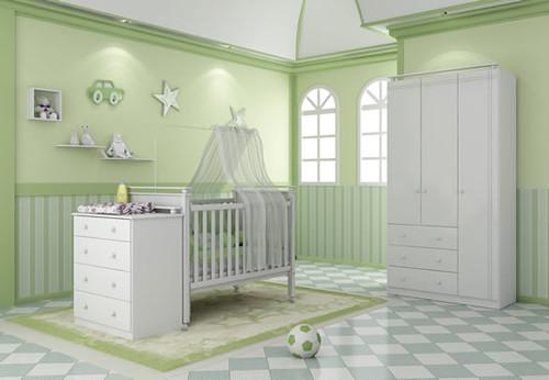 quarto verde bebe