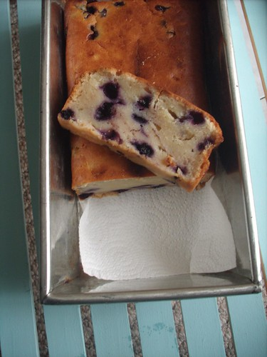 Blueberry-Banana Loaf