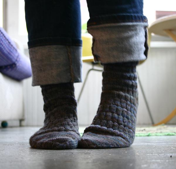 Gentleman's Fancy Sock from Knitting Vintage Socks