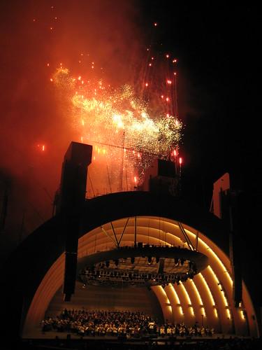 Bowl fireworks
