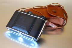 Agfa Jsolette with canvas case (RaúlM.) Tags: camera 120 film 1936 vintage german agfa bellows raúl agnar sá dantas compur jsolette raúlm