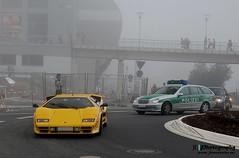 Countach (Jan L. | JLPhotography.) Tags: auto summer car fog italian nikon grand prix exotic lp oldtimer jl lamborghini rare 2009 supercar countach sportscar d40 avdoldtimergrandprix