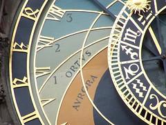 Astronomical clock (fionajay) Tags: prague 2009 seenonflickr