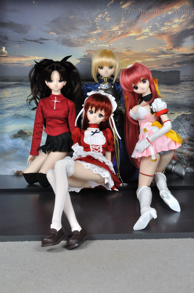 Dollfie Dream DD娃娃 Asuka アスカ エスカレイヤー 遠坂 凛 Panchira Saber