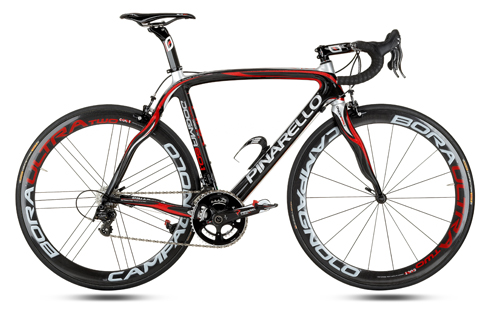 Pinarello Dogma Carbon Red Black Silver