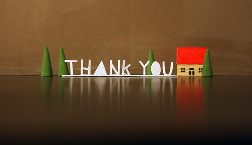 thank you by hellojenuine., on Flickr