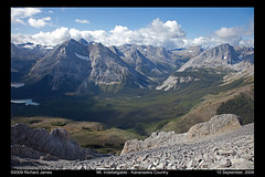 Climbing Mt. Indefatigable - Kananaskis Country - Alberta, Canada (coastodian.org) Tags: alberta mtindefatigable canadianrockieskananaskiscountry