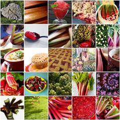 Rhubarb mosaic