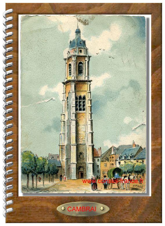 CAMBRAI - Le Mail Saint-Martin Le Beffroi