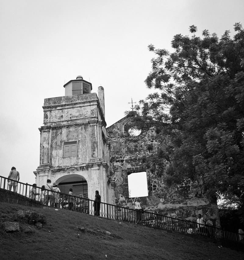 聖彼德教堂的廢墟