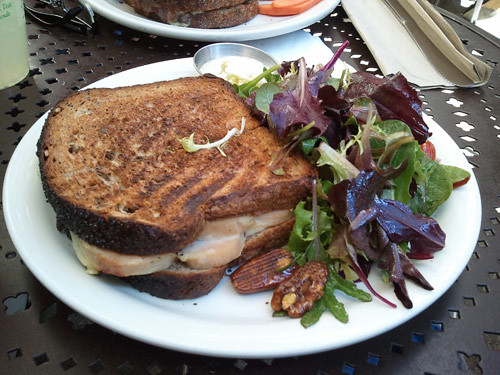 Urth Cafe Panini Roasted Turkey