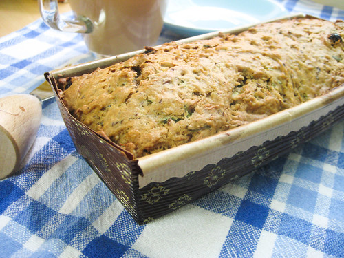 Zucchini bread for breakfast