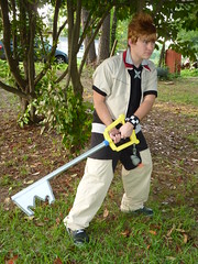 Time for Battle (stormymoorecosplay) Tags: john cosplay stormy axel johnmoore vivi sora riku kingdomhearts chapman roxas pence 2011 organizationxiii vipperman axelroxas nashicon2010 stormymoorecosplay johnmoorechapman stormyvipperman roundcon