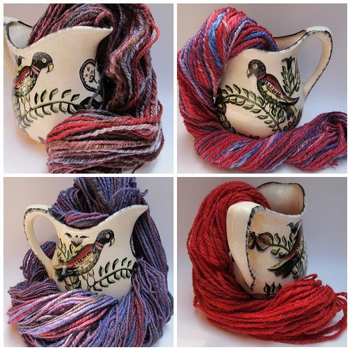 This week in HaldeCraft: handspun yarn