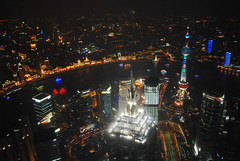 Shanghai by night (Fabio Bianchi 83) Tags: china city sky skyline night lights asia skyscrapers shanghai cielo luci notte jinmao cina citt grattacieli shanghaiwfc