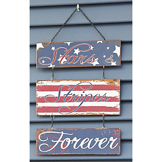 Stars & Stripes Forever Wall Hanging