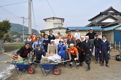 Volunteering in Ishinomaki
