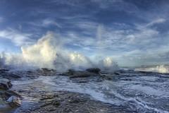 morning splash (-hedgey-) Tags: ocean seascape beach dawn waves hdr rockshelf mygearandme mygearandmepremium mygearandmebronze mygearandmesilver mygearandmegold mygearandmeplatinum mygearandmediamond aboveandbeyondlevel1 aboveandbeyondlevel2 aboveandbeyondlevel3