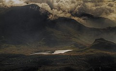 Dark & Brooding! (Susan SRS) Tags: uk mountains misty wales clouds canon dark gb brooding snowdonia img1623 tonemapped