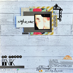 my first ink-ska 86 (enri_75) Tags: scrapbooking sketch scrap 86 sfide sketchalicious