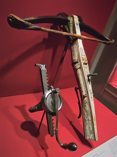 Saint Louis Art Museum, in Saint Louis, Missouri, USA - crossbow