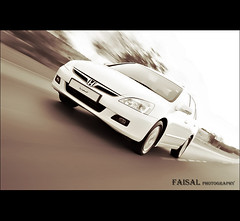 HONDA Accord ... [ P a n n i n g ] (Faisal | Photography) Tags: 120 car speed canon honda accord eos is photographer dynamic fast l usm panning 2009 ef f4 digest faisal alali kmh 24105mm 50d sebia my abigfave anawesomeshot excapture alwaysexc