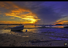 Golden Skies of Halloran ([ Rodelicious ]) Tags: ocean trip travel blue light sea vacation sky sun seascape color colour reflection tree art beach nature beautiful beauty clouds contrast photoshop sunrise canon landscape geotagged photography gold photo exposure ship dof photos australia brisbane queensland pk canoneos canonef1740mmf4lusm hdr highdynamicrange hdri flickrmeetup blending waterscape rodel panoramicview photomatix brisbanemeetup tonemap flickrsbest canon400d canonxti aplusphoto pinoykodakero colourartaward dazzlingshots perfectescapes pointhalloran rodelicious ifolio garbongbisaya rodeljoselitomanabat