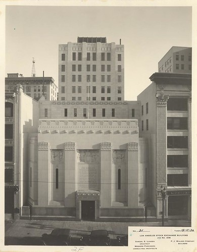 Los Angeles Stock Exchange Building