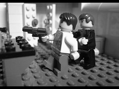 Bathroom Fight - Casino Royale (2006) (MadThing picture) Tags: door white car death james bath gun lego daniel room secret casino double m craig spy fisher bond agent q ppk drown royale 007 gunbarrel mi6 p99
