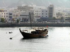 Sultanate of Oman - Muscat (Chris&Steve) Tags: boat vessel oman 2008 muscat sultanateofoman p75 mutra 10millionphotos v75i