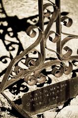 Wrought Iron Grave Marker, Tubac, AZ (ecparker) Tags: delete10 delete9 delete5 delete2 delete6 delete7 delete3 delete delete4 save save2