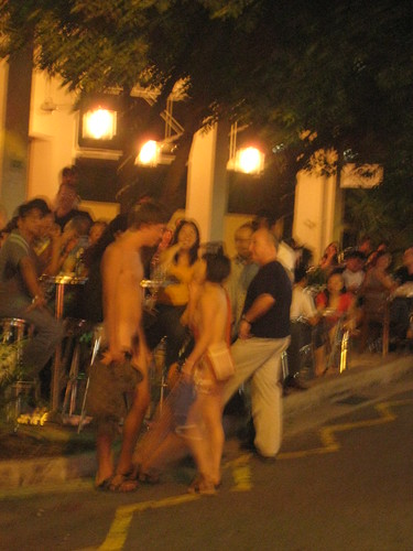 Holland Village Nude Couple