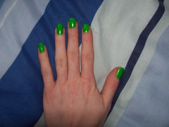 100_0420 (Verdi Von Cherry) Tags: green polish nailpolish nailvarnish varnish greennailpolish greennailvarnish