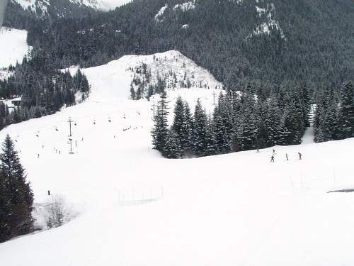Skiing at Crystal
