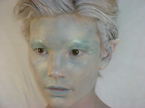 fantasy makeup images. Fantasy makeup with prosthetic