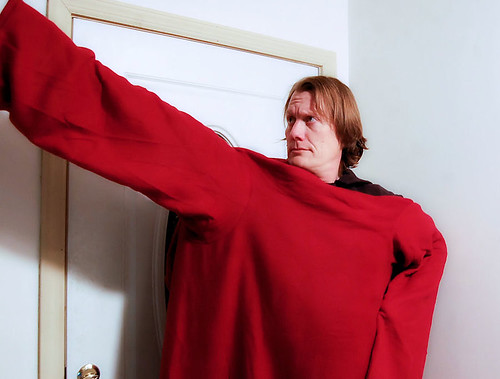 behold the power of the snuggie!