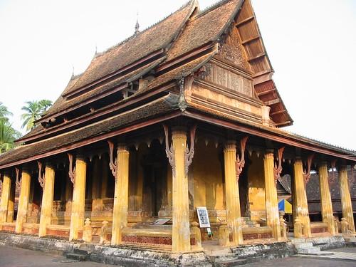 Wat Si Saket: de mooiste van Vientiane