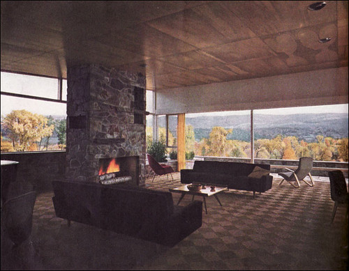 1949 Living Room in the Berkshires