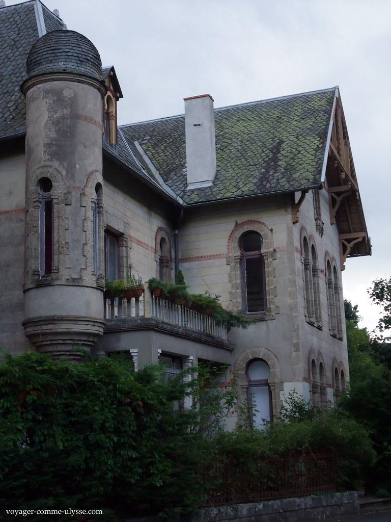 Maison bourgeoise auvergnate