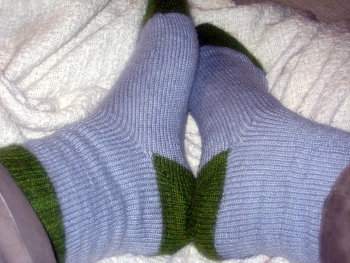 First Socks of 2009