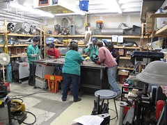 MIG welding class