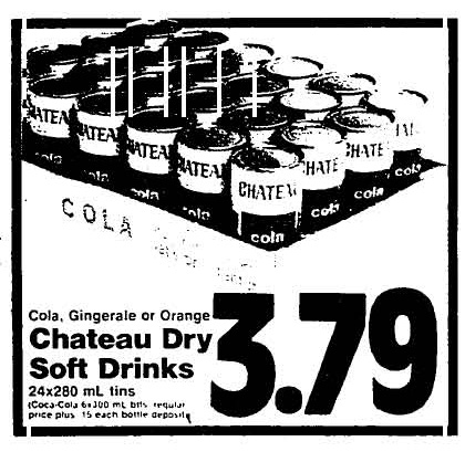Chateau Dry Soft Drinks