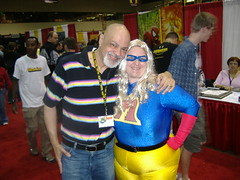 I HUGGED GEORGE PEREZ AGAIN! by ladyjare
