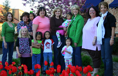Gin, Leslie, Me, Marla, Felicia, Missy and Lisa