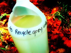 Earth Day 2009 To Recycle Grey Water