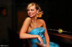 Sophia. ([ BillyG Photography  ]) Tags: blue wedding portrait flower bar bride dress bridal sophia sb800 nikond40x