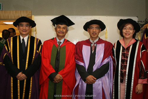 SEGi Convocation -  VIPs and lecturers